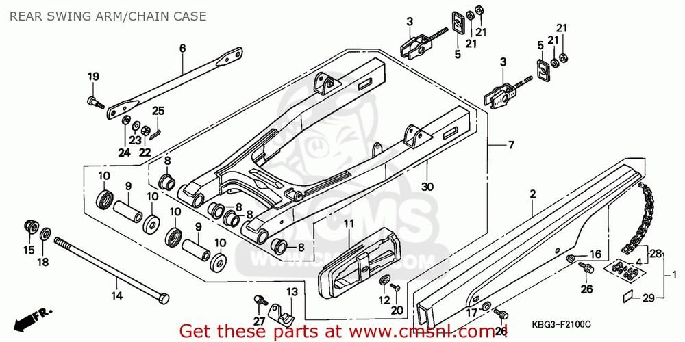 CMS シーエムエス その他エンジンパーツ (40540-KV3-405) CHAIN SET,DRIVE (