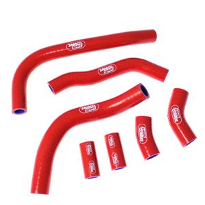SAMCO SPORT サムコスポーツ ラジエーター関連部品 クーラントホース(ラジエーターホース) カラー:パープル (限定色) CRF 450 R OEM Design 2009-2012