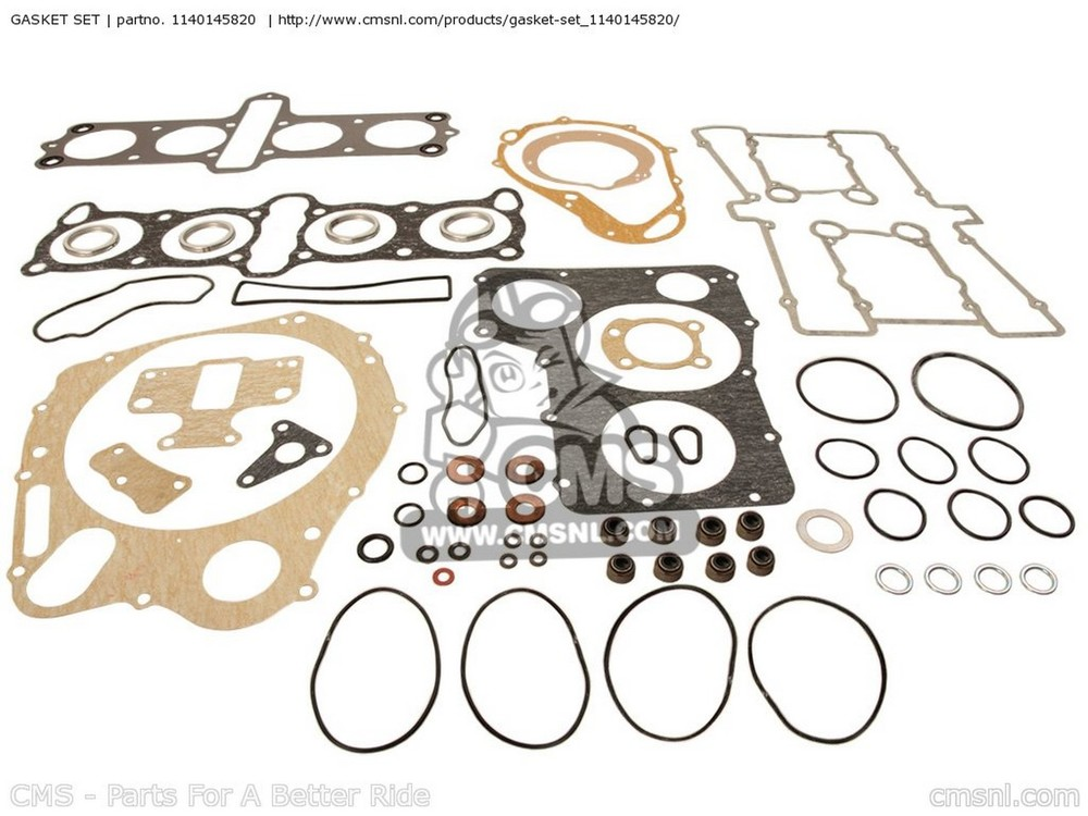 CMS シーエムエス ガスケット (11402-45840) GASKET SET GS850 1986 (G) GENERAL EXPORT (E01)