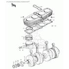 CMS シーエムエス ピストン・ピストン周辺パーツ リングセット、標準 (Ring Set,std) KZ900