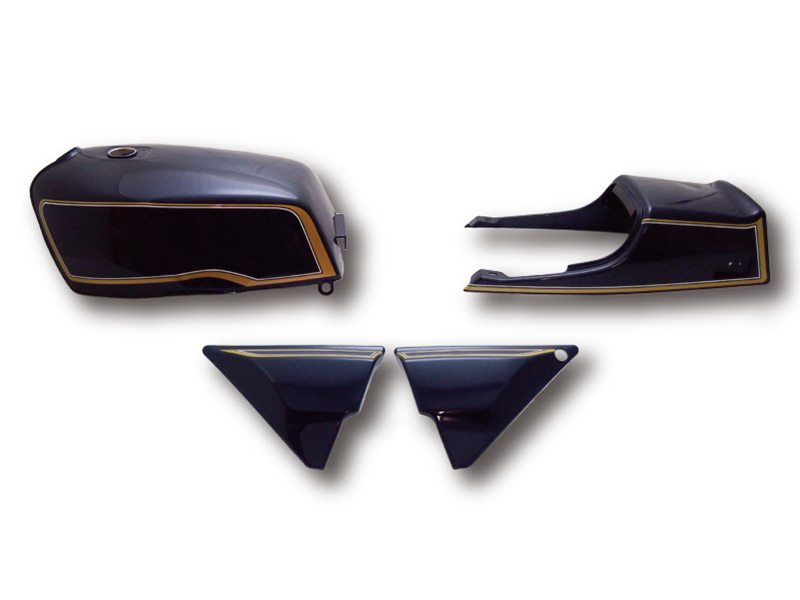 【イベント開催中!】 DOREMI COLLECTION ドレミコレクション その他外装関連パーツ FXタイプタンクセット タイプ:紺色(タックロール) ゼファー750