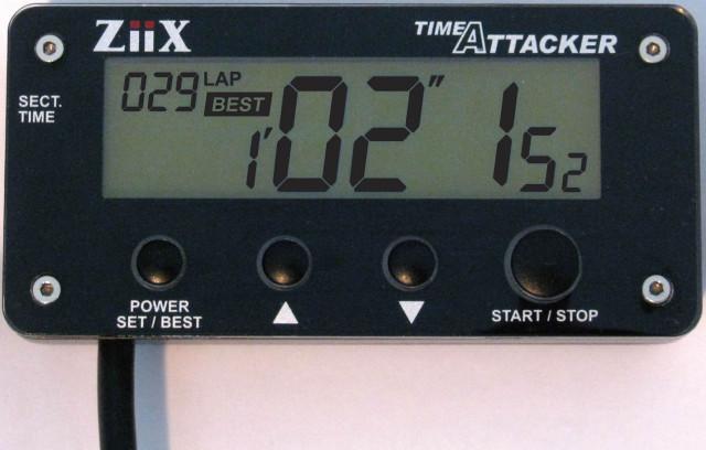 【在庫あり】CLEVER LIGHT クレバーライト その他メーター関連 ZiiX タイムアタッカー 本体【補修用】 ZiiX タイムアタッカー