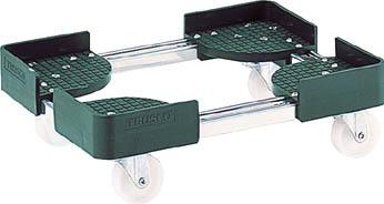 トラスコ中山 工業用品 TRUSCO 伸縮式コンテナ台車 内寸400-500X600-700 SUS製