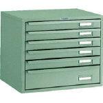 トラスコ中山 工業用品 TRUSCO 卓上ツールケース ワイド 6段 384X327XH327