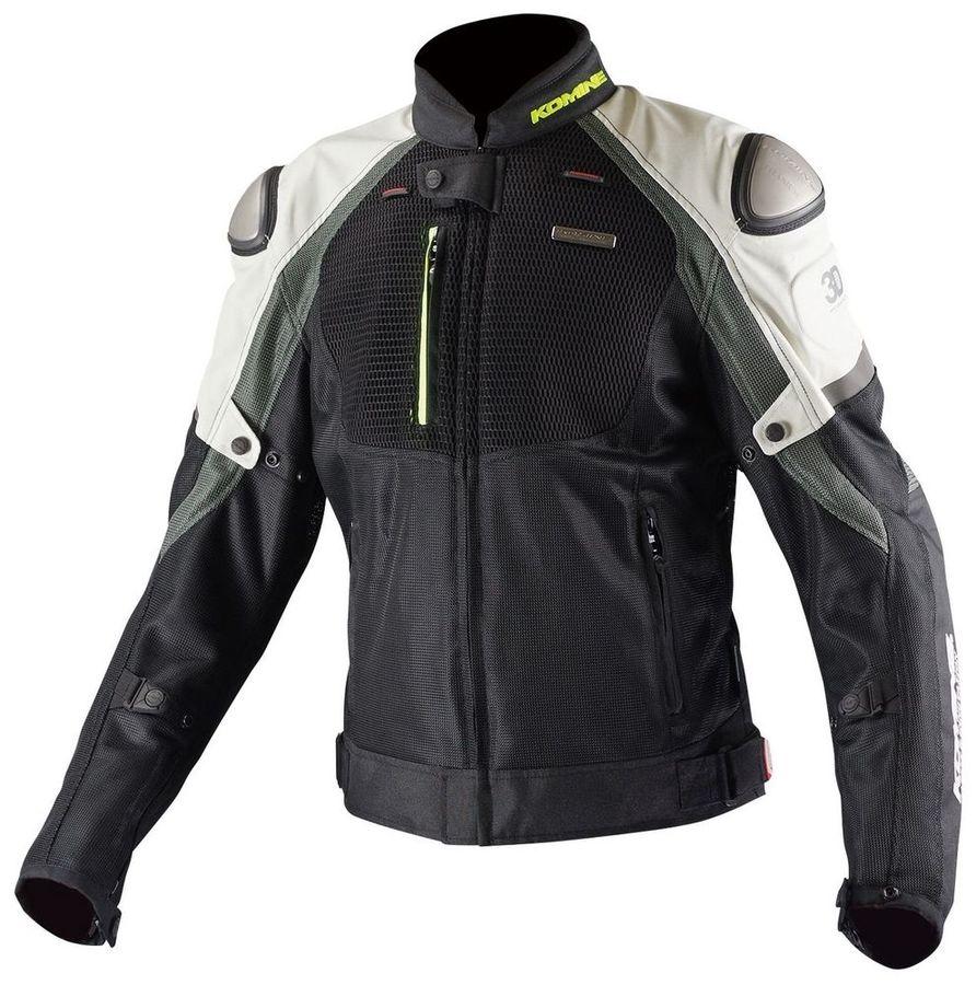 KOMINE コミネ JK-091 チタニウムメッシュジャケット 3D サイズ:L