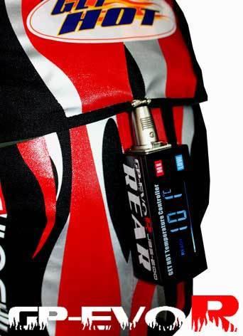 GET HOT ゲットホット タイヤウォーマー GP-EVO R カラー:ソリッドブラック ノーマル