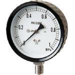 TRUSCO トラスコ中山 工業用品 右下 ステンレス圧力計
