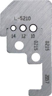 TRUSCO トラスコ中山 工業用品 IDEAL カスタムストリッパー替刃 45‐187用