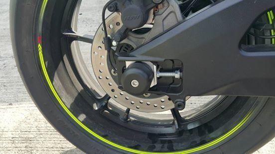 Club517Superbike クラブ517スーパーバイク リアホイールプロテクター GSX-R1000