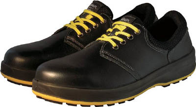TRUSCO トラスコ中山 工業用品 シモン 安全靴 短靴 WS11黒静電靴 25.0cm