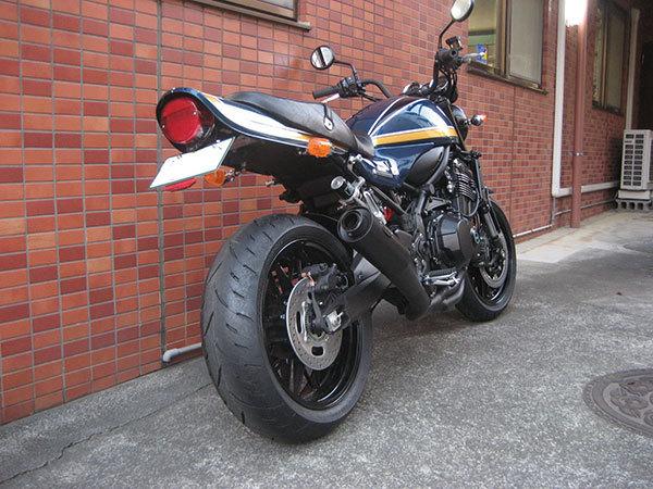 M-SOUL(ムサシ) エムソウル 武蔵改 フルエキゾーストマフラー タイプ:インナーサイレンサーL追加 Z900RS