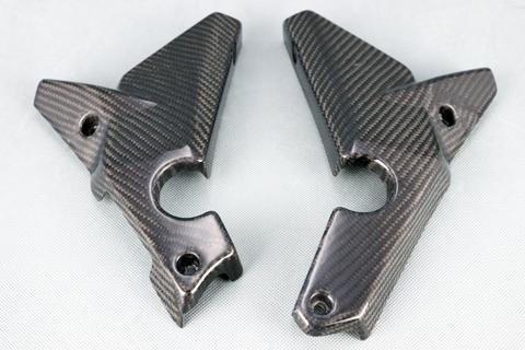 A-TECH エーテック Aテック フレームカバー フレームガード タイプ:カーボンケブラー 仕上げ:クリア塗装あり RX125 SX125
