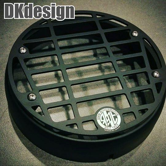 DK design ディーケーデザイン その他外装関連パーツ ヘッドライトプロテクター RnineT