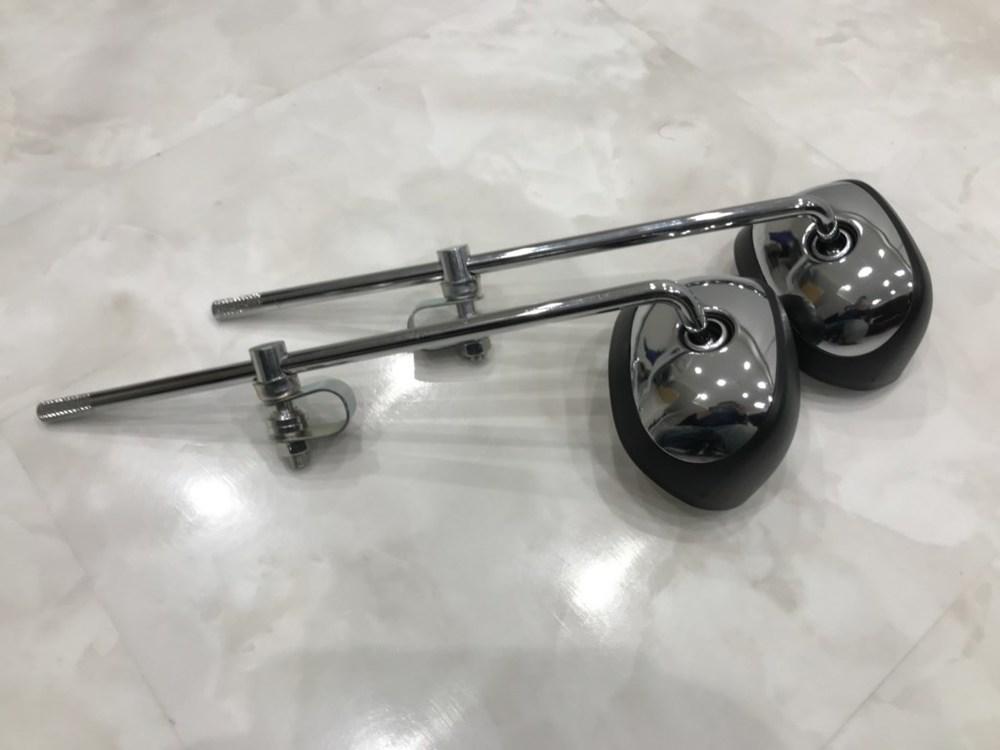 プレイマンズ・コーポレーション Boo Boo クランプ型 2輪車用 ミラー