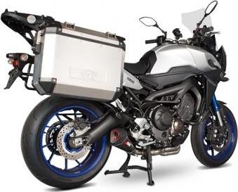 【イベント開催中!】 SCORPION スコーピオン セルケト テーパー (SERKET TAPER FULL SYSTEM) フルエキゾーストマフラー 素材:カーボンファイバー(Carbon Fibre) MT-09 トレーサー