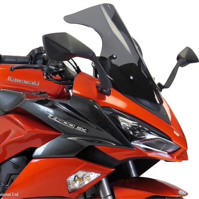 【在庫あり】ODAX オダックス POWER BRONZE スポーツエアフロースクリーン カラー:ダークスモーク ニンジャ1000 (Z1000SX)