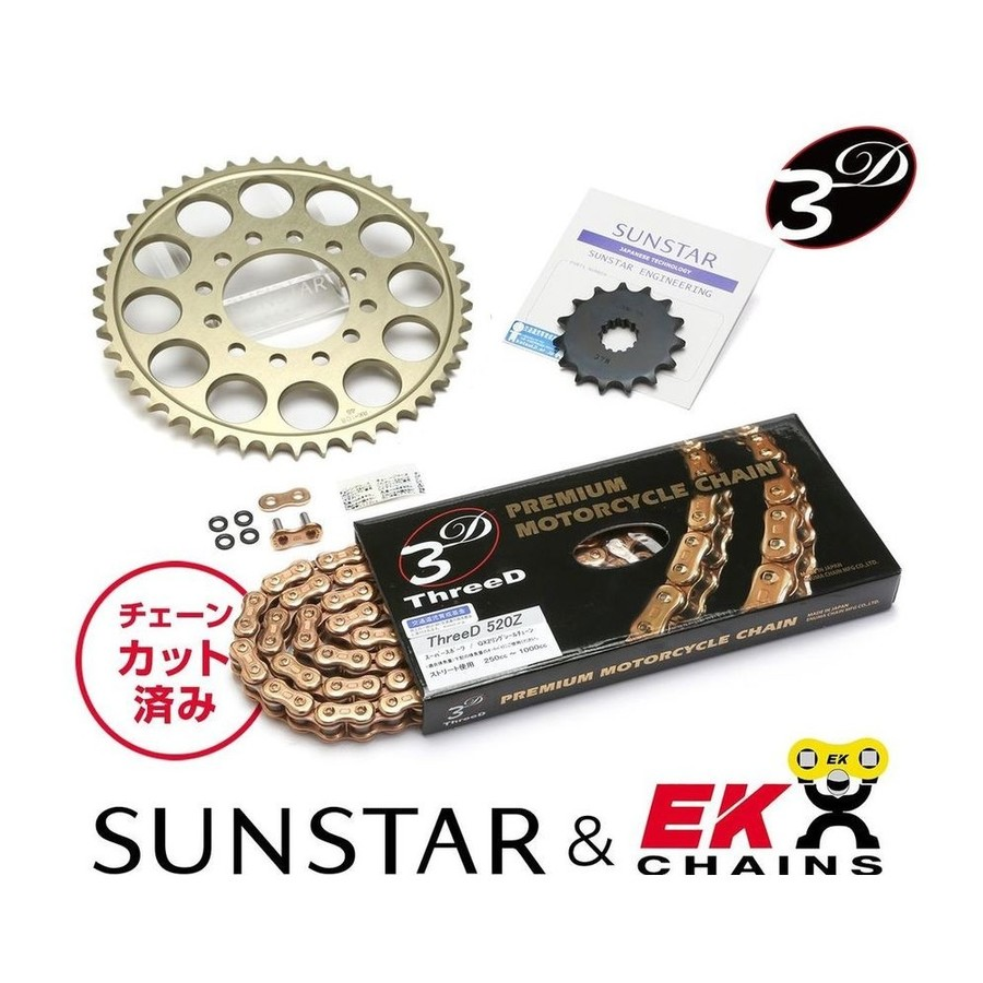 <title>SUNSTARサンスター スプロケットチェーンセット フロント リアスプロケット チェーン 即日出荷 カシメジョイントセット SUNSTAR サンスター Ninja650R</title>