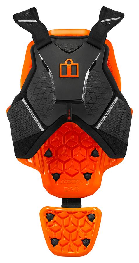 【在庫あり】アイコン 胸部プロテクターチェストガード・ブレストガード VEST ICON D3O [D3O ベスト] サイズ:L/XL