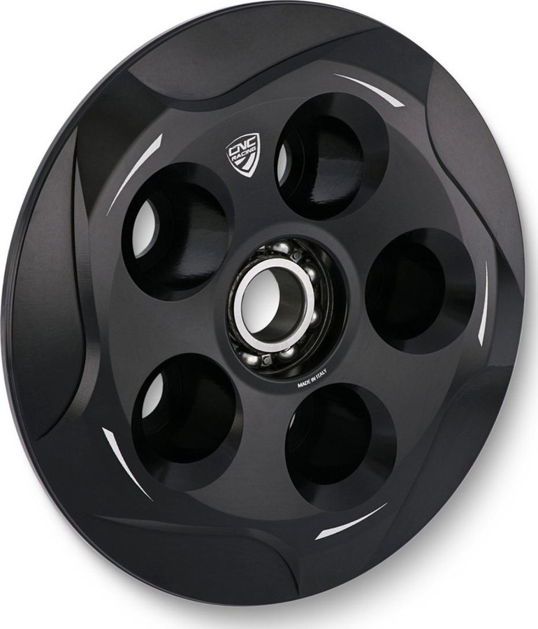 CNC Racing CNCレーシング プレッシャープレートオイルバスクラッチ カラー:ブラック 848 848EVO GT1000 Multistrada 1100/S SPORT1000 ST3 ST4 STREETFIGHTER848