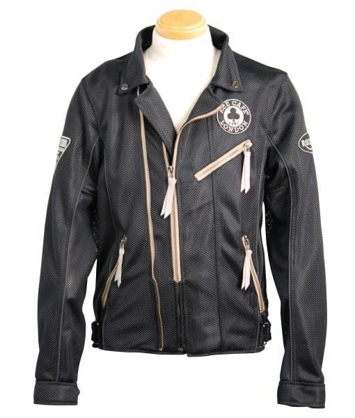 ACECAFE LONDON エースカフェロンドン メッシュジャケット Mesh W Riders Jacket [メッシュWライダースジャケット] サイズ:S