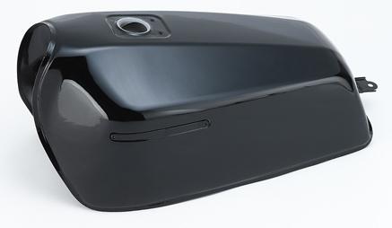 CHERRY チェリー 【リプレイス品】ガソリンタンク カラー:ブラック Z400FX/Z400J