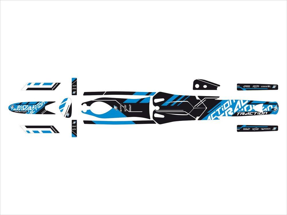 Blackbird Racing ブラックバードレーシング ステッカー・デカール トラクションステッカー キット【TRACTION STICKERS KIT】 ST 01-06