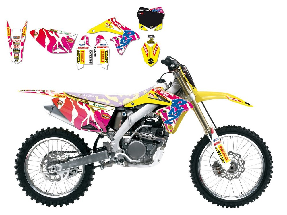 REPLICA TEAM GRP SUZUKI WORLD MXGP 2016 92 限定版 グラフィックキット【REPLICA TEAM GRP SUZUKI WORLD MXGP 2016 92 LIMITED EDITION GRAPHIC KIT】
