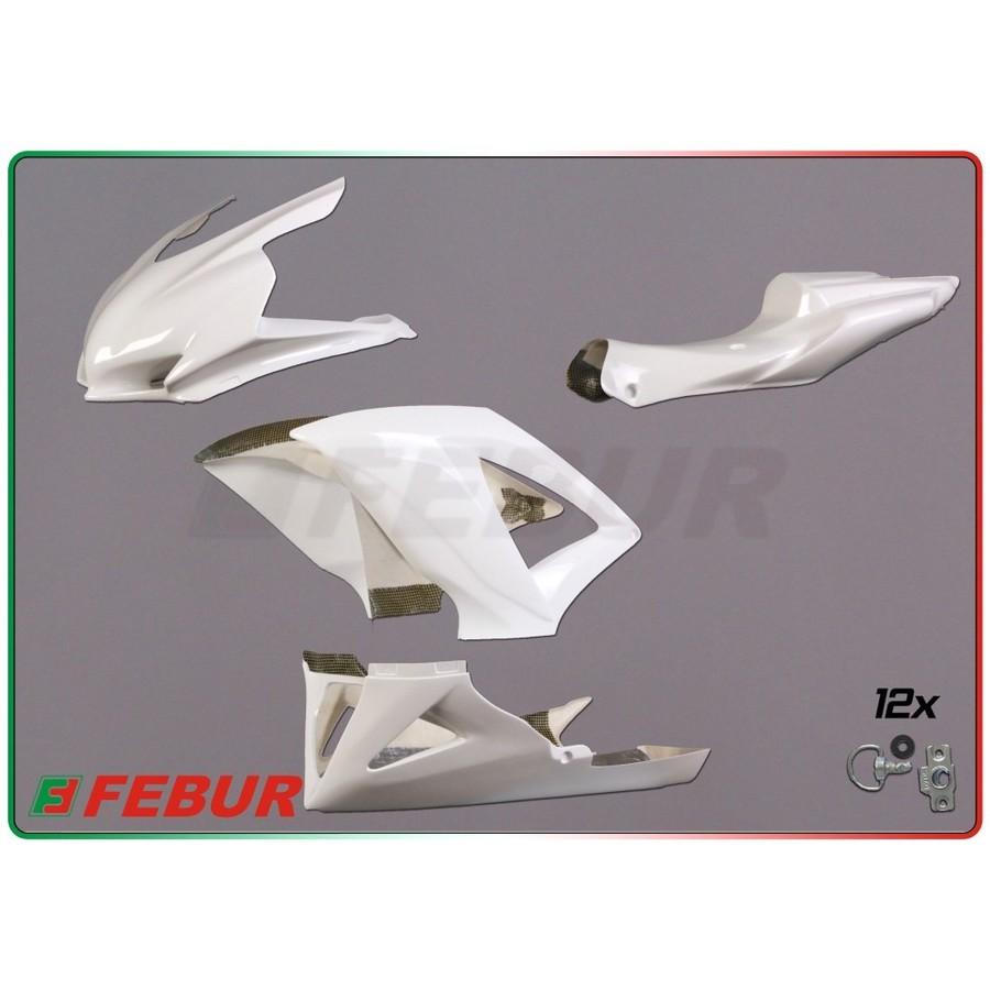 FEBUR フェバー フルカウル・セット外装 レーシングフルカウルキット FRP GSX-R 600 750 2008-2010