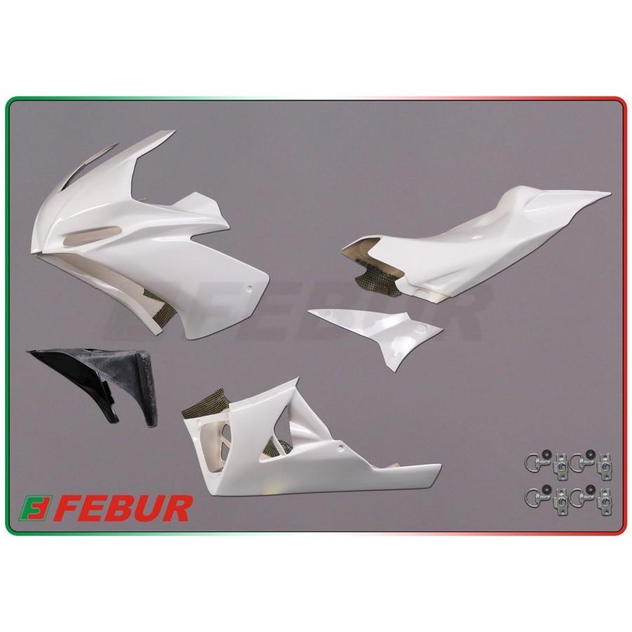 FEBUR フェバー フルカウル・セット外装 レーシングフルカウルキット FRP RSV4 2009-2014