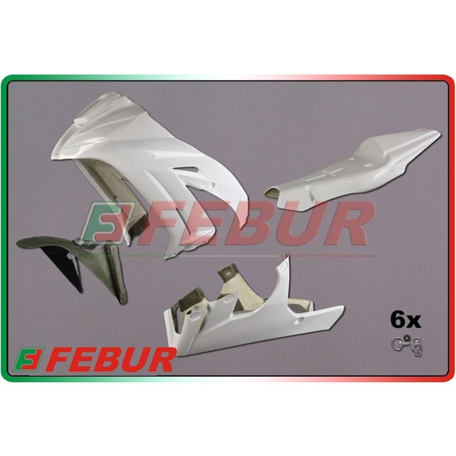 FEBUR フェバー フルカウル・セット外装 レーシングフルカウルキット FRP ZX-10R 2011-2015