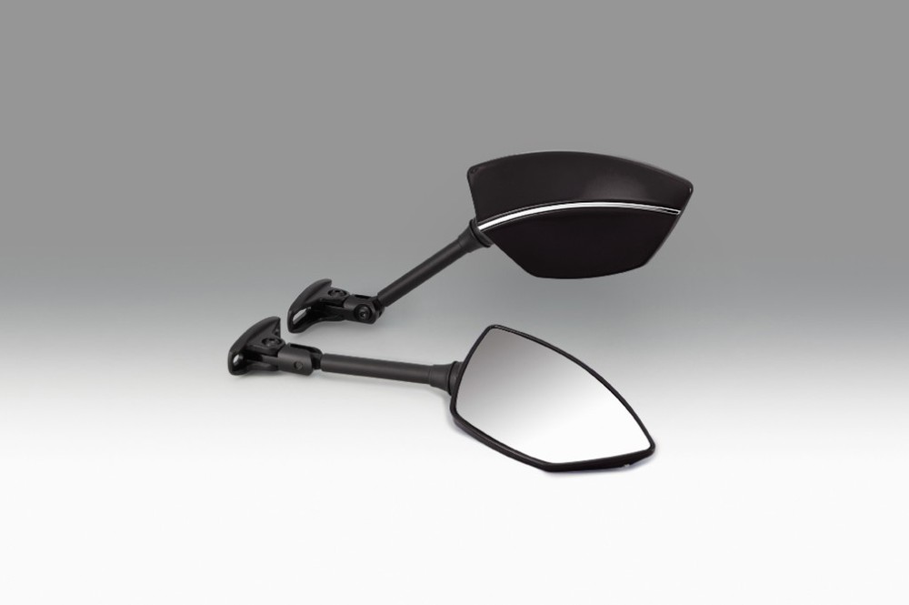 KIJIMA キジマ ミラー類 ミラー TECH08 カウルマウント カラー:ブラック