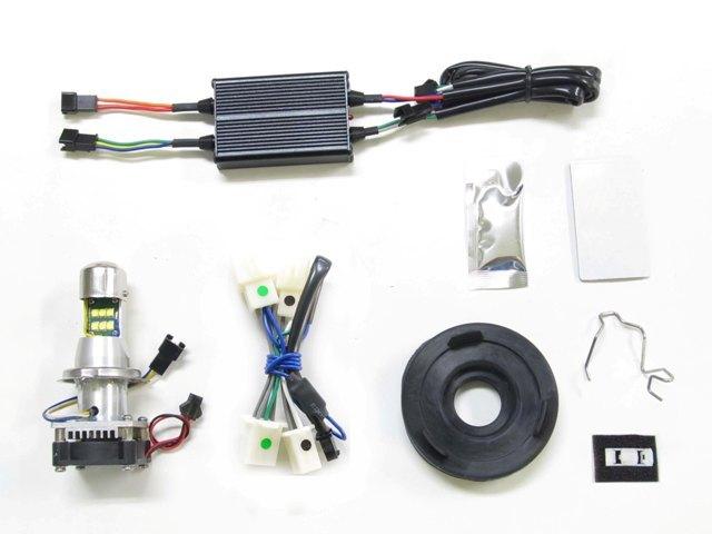 PROTEC プロテック LHL-H19 LEDマルチリフレクターヘッドライトライトレスkit 6000k CB1100 EX