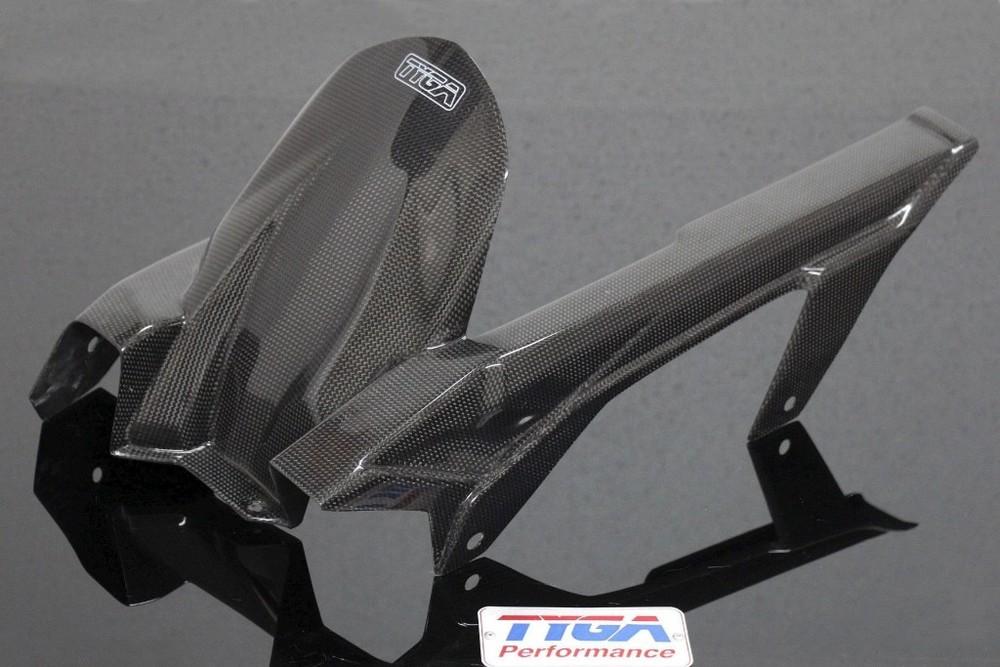 TYGA PERFORMANCE タイガパフォーマンス リアフェンダー Rear Hugger/Chain Guard ニンジャ400 (2014-)
