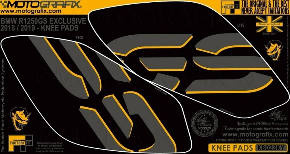MOTOGRAFIX モトグラフィックス ステッカー・デカール ボディパッド R1250GS