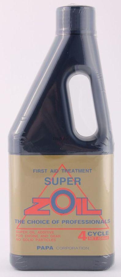【在庫あり】添加剤 [スーパーゾイル] SUPER ZOIL for 4cycle 容量:450ml