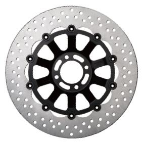【在庫あり】SUNSTAR サンスター TRAD TYPE2 [トラッドタイプ2] フロントディスクローター フローティングタイプ:セミフローティング フローティングピンカラー:ブラック