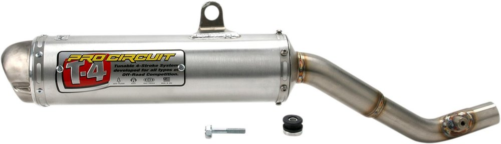 PRO CIRCUIT プロサーキット サイレンサー T-4 【T-4 SILENCER [4H00400]】 XR400R 1996 - 2004