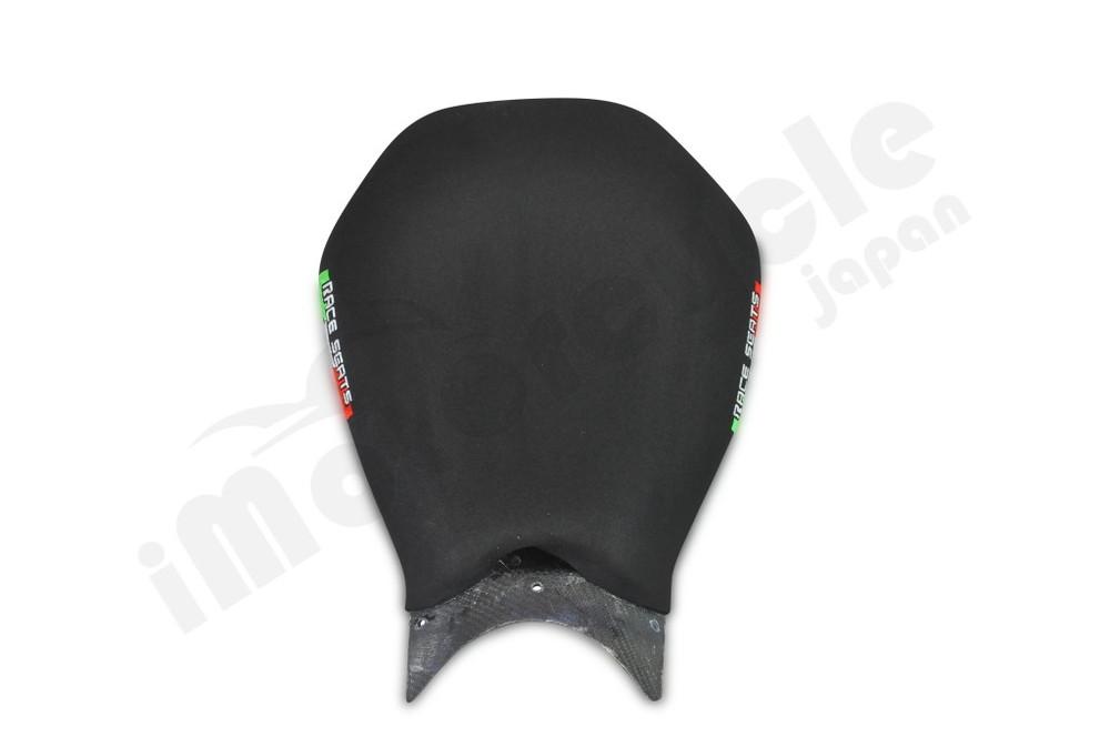 RACESEATS レースシーツ シート本体 カーボン タンクエンドエクステンションカバー + カーボンシート 1199Panigale [パニガーレ] 1299Panigale [パニガーレ] 899Panigale [パニガーレ]