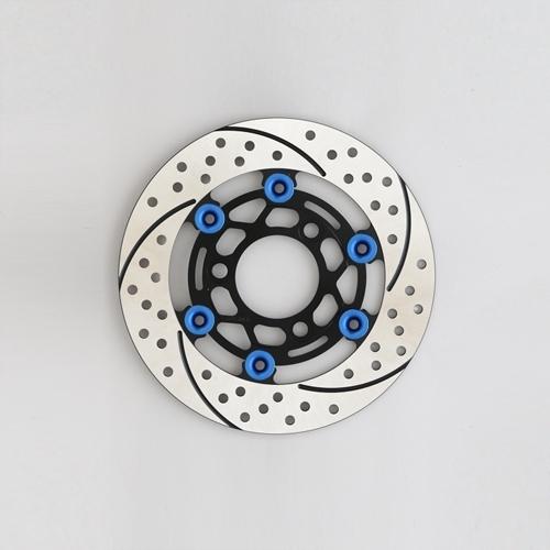 SUNSTAR サンスター PREMIUM RACING 4mini [プレミアムレーシング] フロントディスクローター フローティングタイプ:フルフローティング フローティングピンカラー:ブルー
