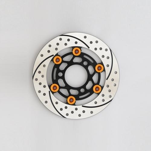 SUNSTAR サンスター PREMIUM RACING 4mini [プレミアムレーシング] フロントディスクローター フローティングタイプ:セミフローティング フローティングピンカラー:オレンジ