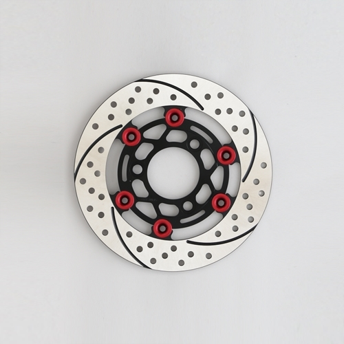 SUNSTAR サンスター PREMIUM RACING 4mini [プレミアムレーシング] フロントディスクローター フローティングタイプ:セミフローティング フローティングピンカラー:レッド