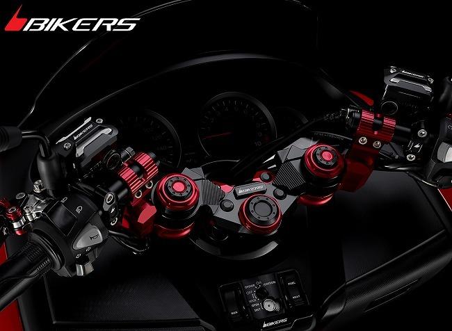 【イベント開催中!】 BIKERS バイカーズ セパレートハンドルキット カラー:レッド FORZA 300 PCX150 フォルツァ Si
