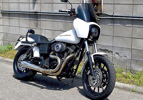 EASYRIDERS イージーライダース フルエキゾーストマフラー 【STER MOTORCYCLE(スター モーターサイクル)】スペシャルエキゾースト Dyna (88ci) TwinCam88