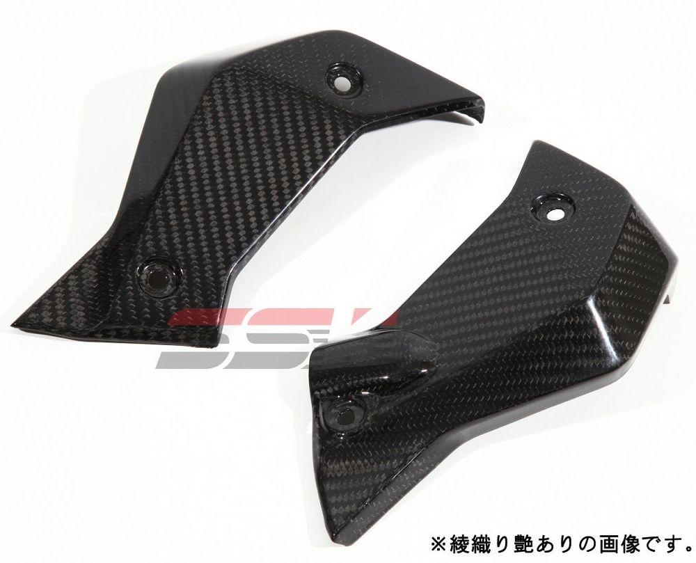 SSK:スピードラ エスエスケー:スピードラ コアガード ラジエーターサイドカバー ドライカーボン タイプ:平織り艶消し R1200R R1200RS