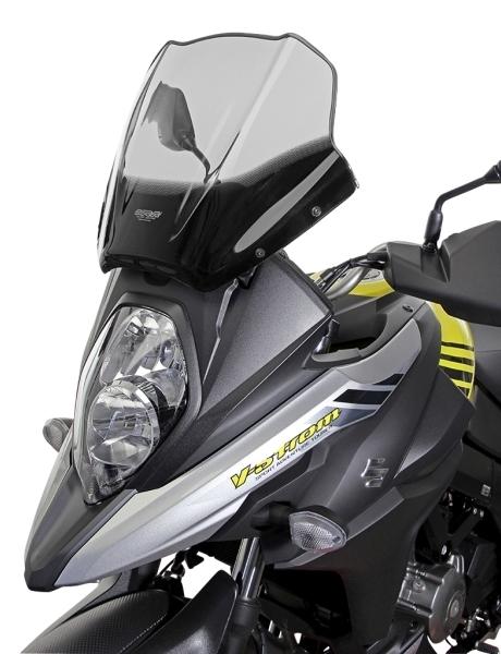 MRA エムアールエー スクリーン ツーリング カラー:ブラック/グラデーション無し Vストローム650 Vストローム650XT