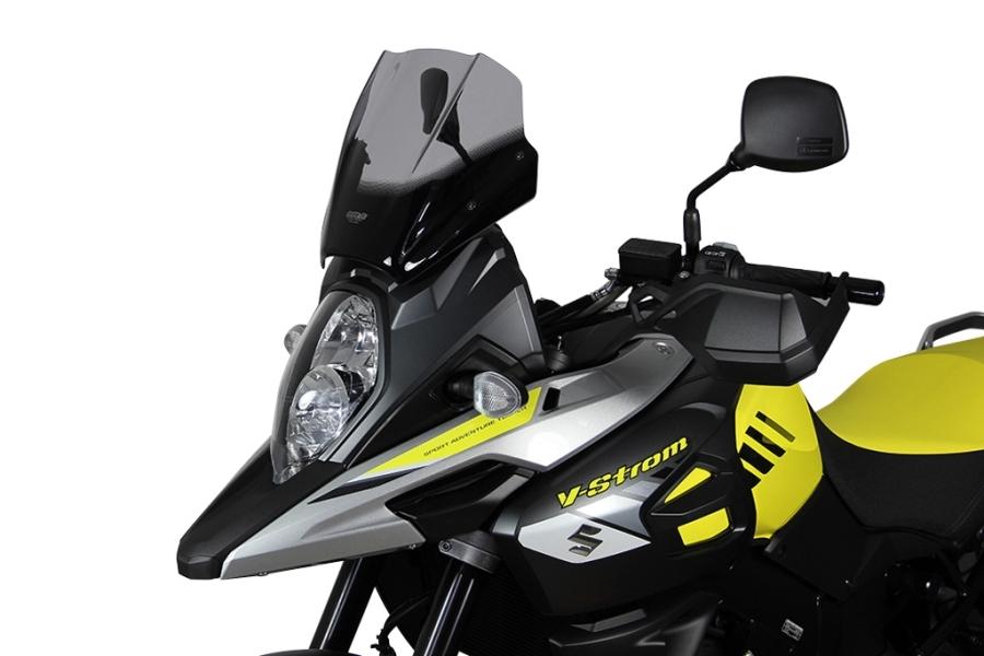 MRA エムアールエー スクリーンツーリング カラー:ブラック Vストローム1000