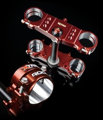 XTRIG エックストリッグ トップブリッジ TRIPLE CLAMP ROCS Supermoto (トリプル クランプ ロックス スーパーモト) WR250 F WR450 F YZ250 F YZ250 FX YZ450 F YZ450 FX