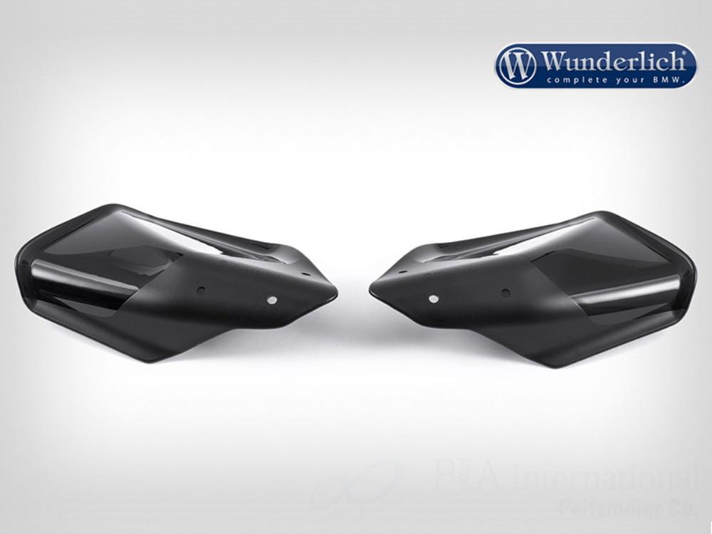 Wunderlich ワンダーリッヒ ハンドガード ハンドプロテクター カラー:ブラック F650GS F700GS F800GS F800R R1200GS R1200R R1200RT