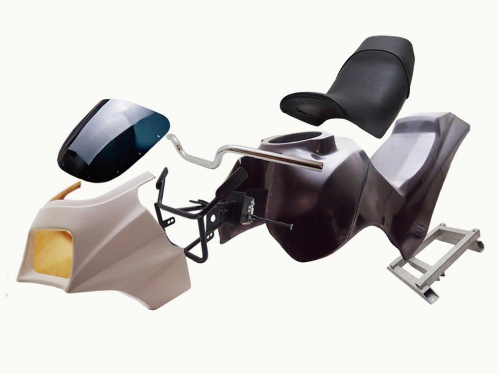 DOREMI COLLECTION ドレミコレクション フルカウル・セット外装 ミニンジャ外装セット Z125 プロ