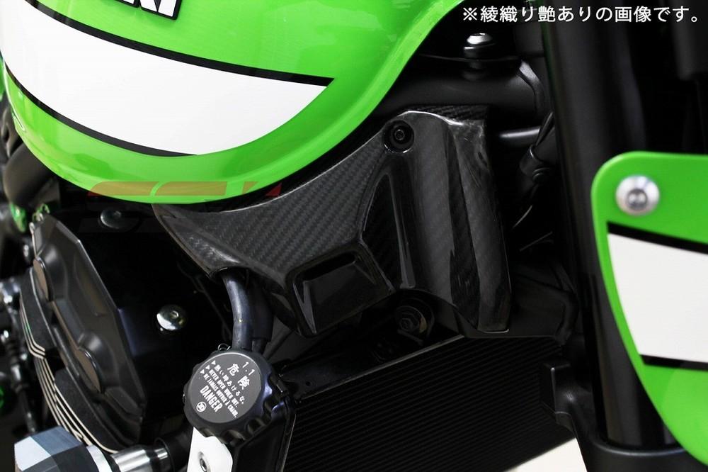 SSK:スピードラ エスエスケー:スピードラ フロントフレームカバー 仕様:平織艶あり Z900RS Z900RS CAFE